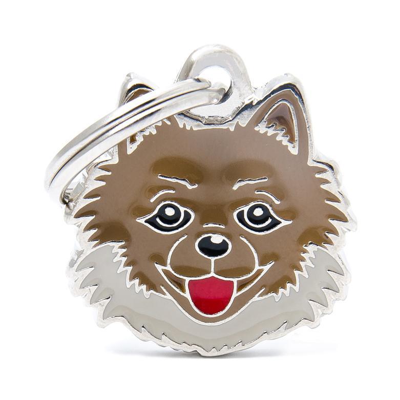 Halsbandssmycke med Rasmotiv - Pomeranian