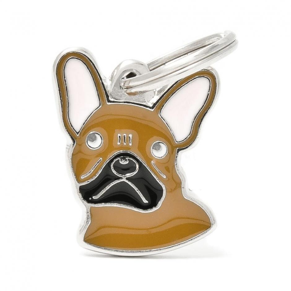 Halsbandssmycke med Rasmotiv - Fransk Bulldogg