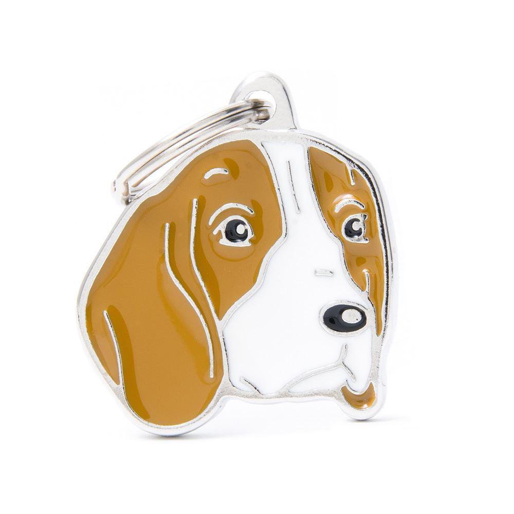 Halsbandssmycke med Rasmotiv - Beagle