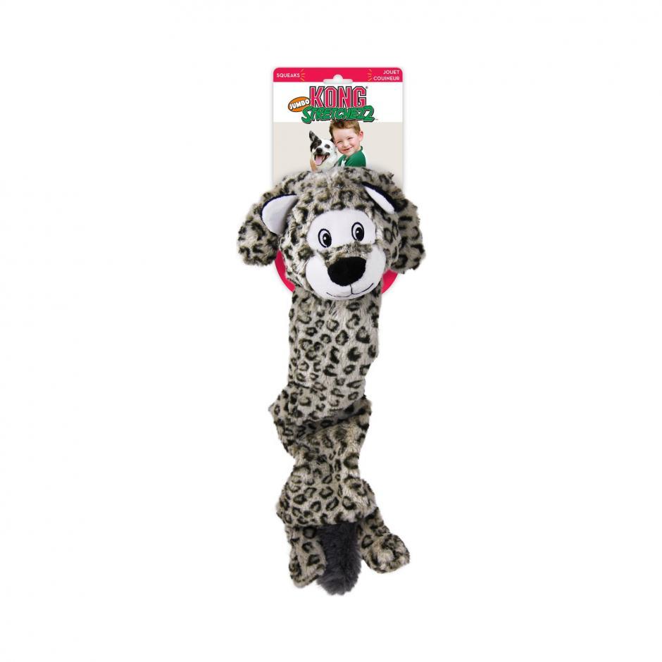 KONG Stretchezz Jumbo - Snöleopard