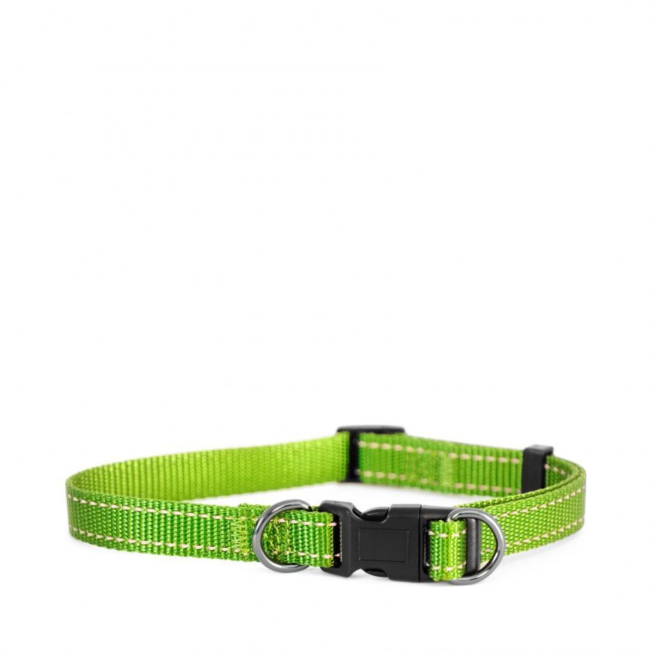 Iris Nylonhalsband - Grön