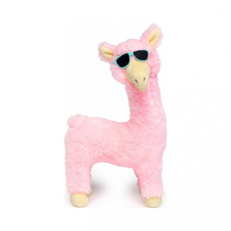 FuzzYard Plyschleksak - Pink Llama
