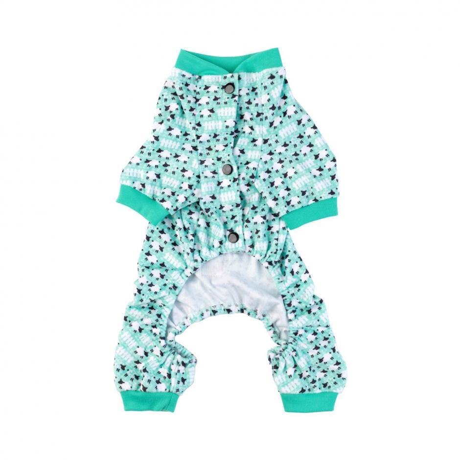 FuzzYard Pyjamas - Green Sheep