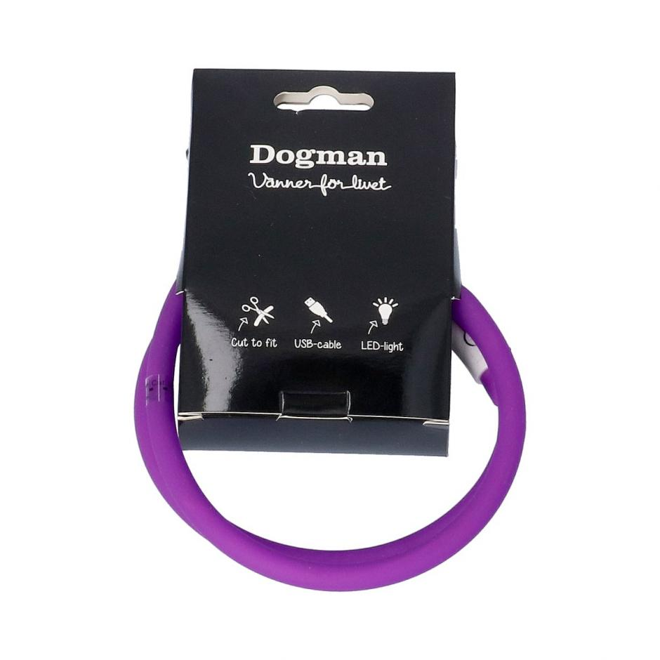 Dogman LED-ring - Lila