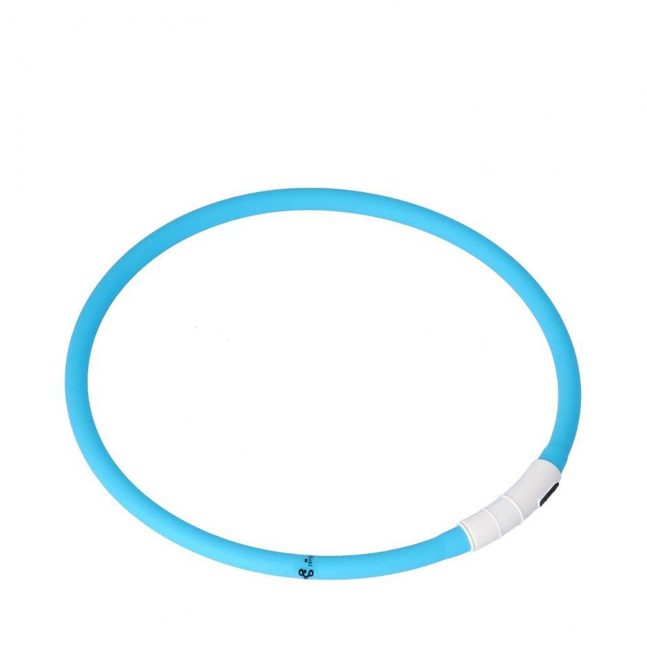 Dogman LED-ring - Turkos