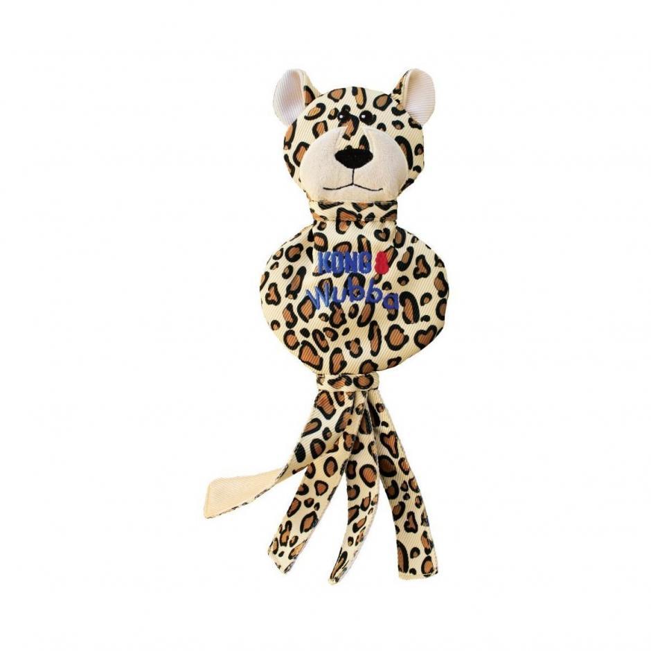 KONG Wubba No Stuff - Cheetah