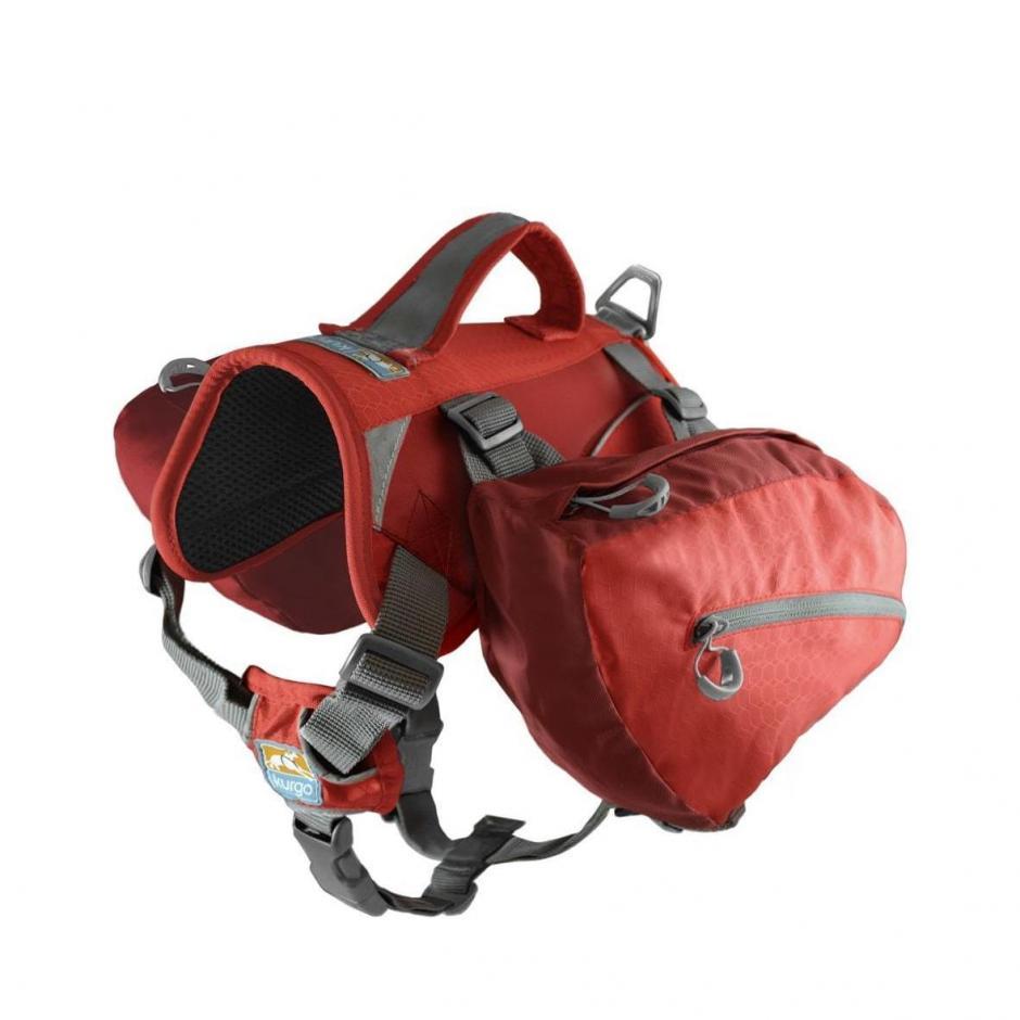 Kurgo Baxter Dog Backpack - Röd