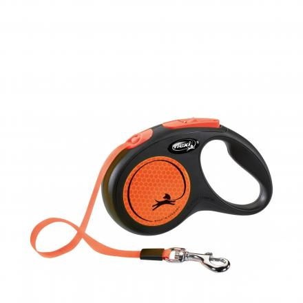 Flexi New Neon 5 m - Orange