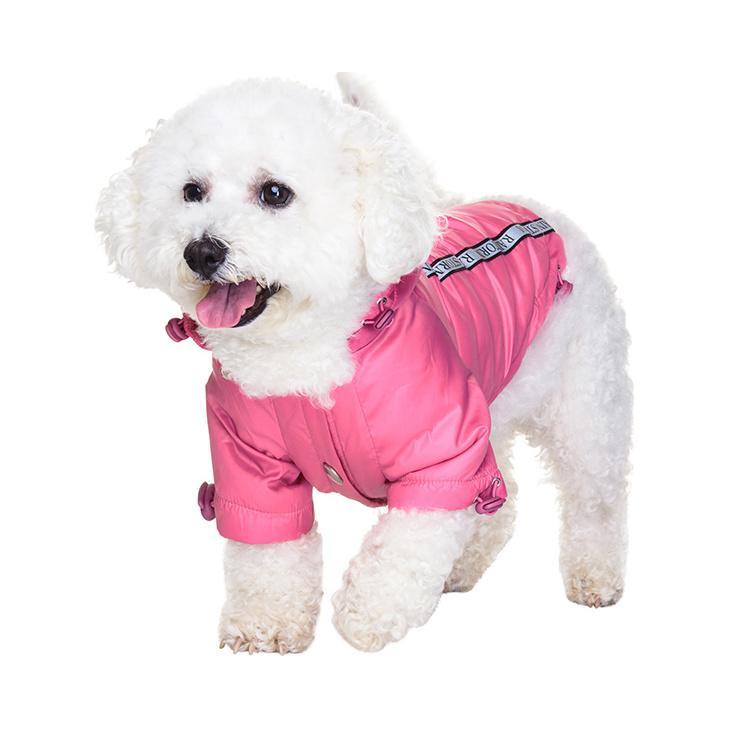 Rainstorm Hundjacka - Rosa
