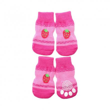 Urban Pup Hundstrumpor 4-pack - Strawberry