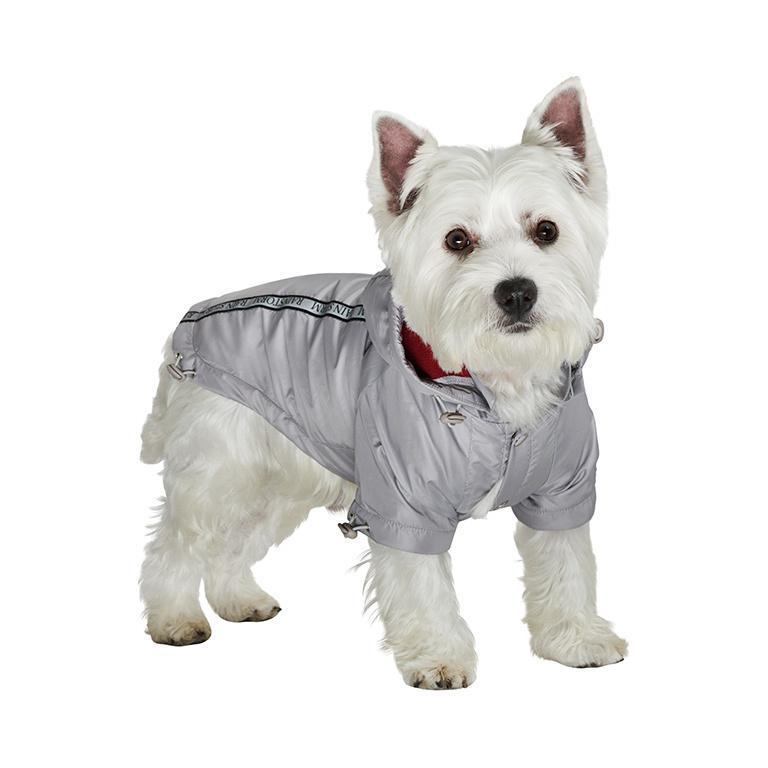 Rainstorm Hundjacka - Silver