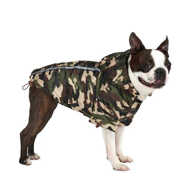 Rainstorm Hundjacka - Camouflage