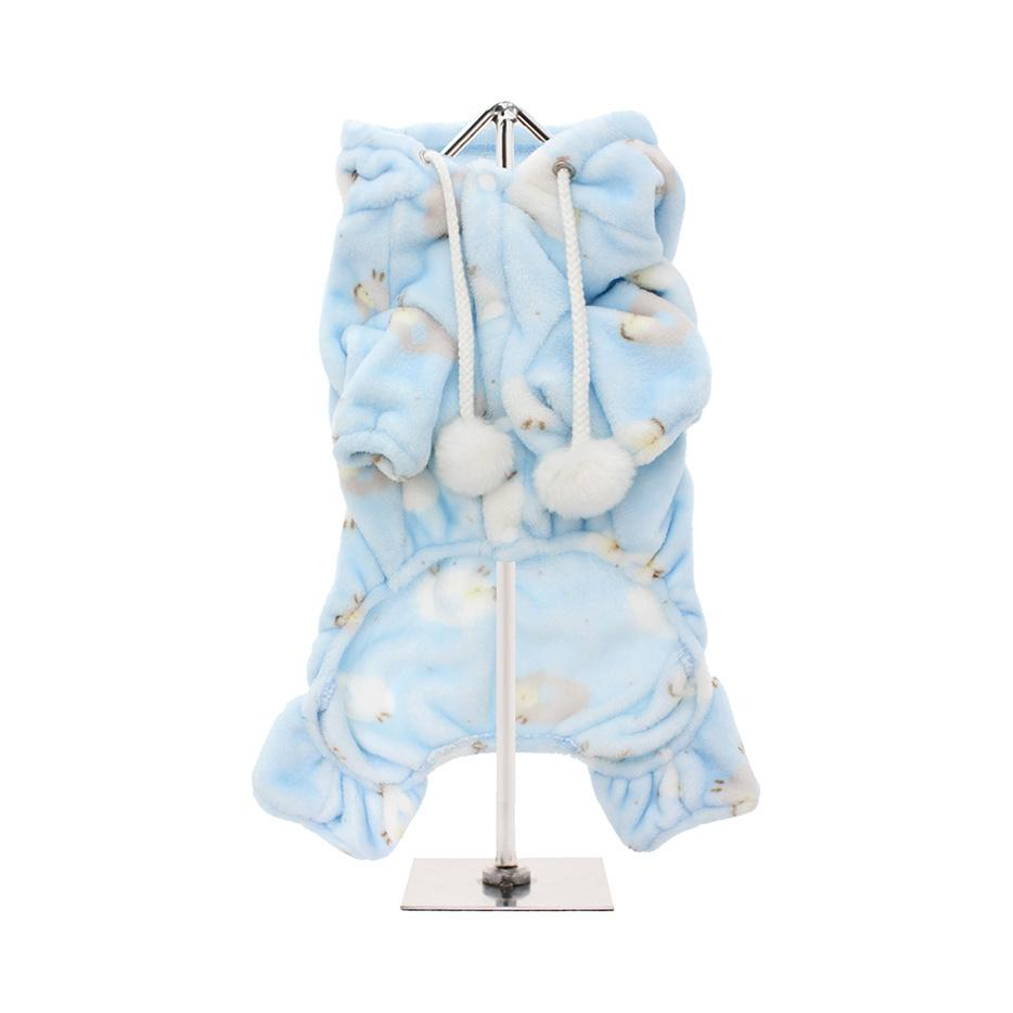 Counting Sheep Onesie - Baby Blue