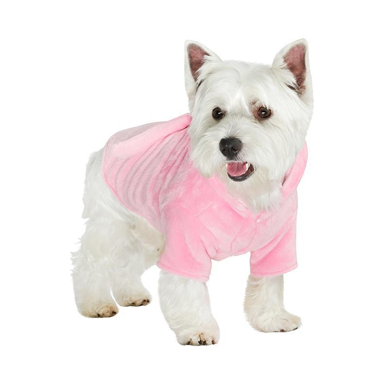Badrock för Hund - Rosa