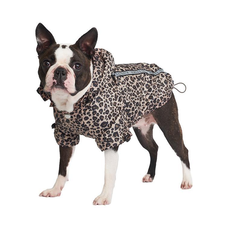 Rainstorm Hundjacka - Leopard