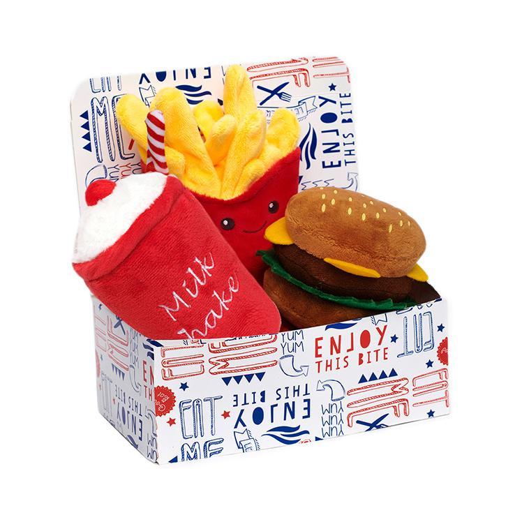 Meal Deal Box Hundleksak - Hamburgare