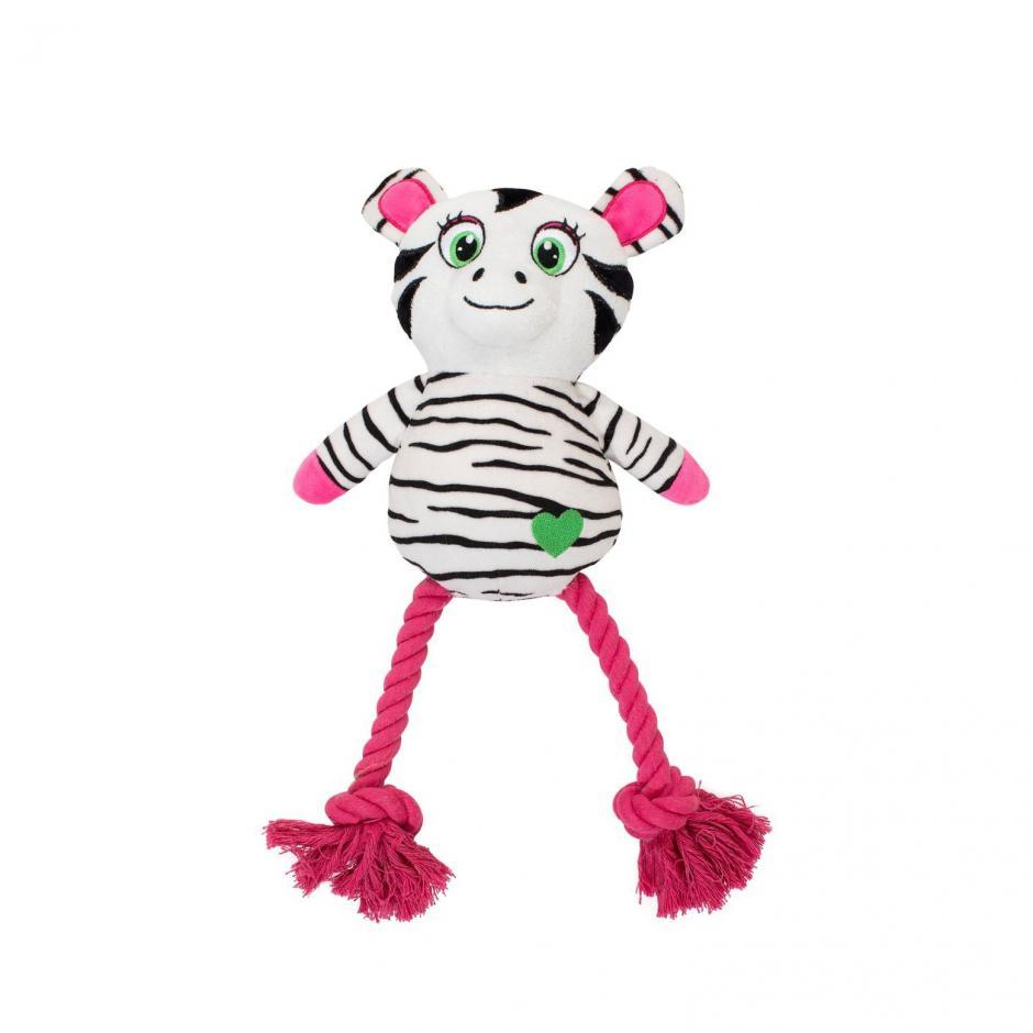 Kawaii Hundleksak - Zebra