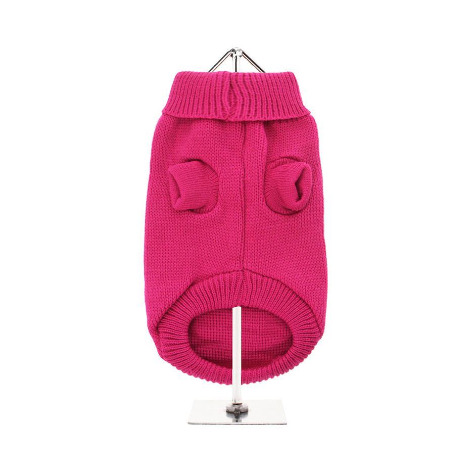 Stickad Hundtröja - Bruiser's Pink