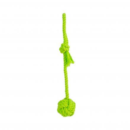 Boll med Rep Hundleksak - Grön
