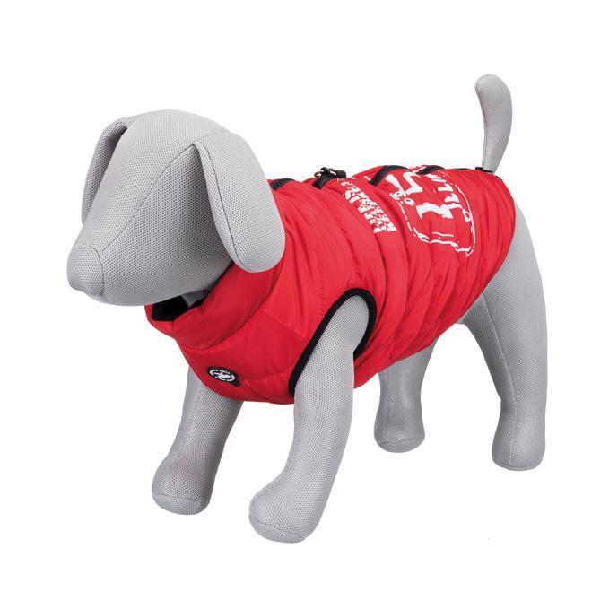 Saint-Malo Hundväst med Sele - Röd