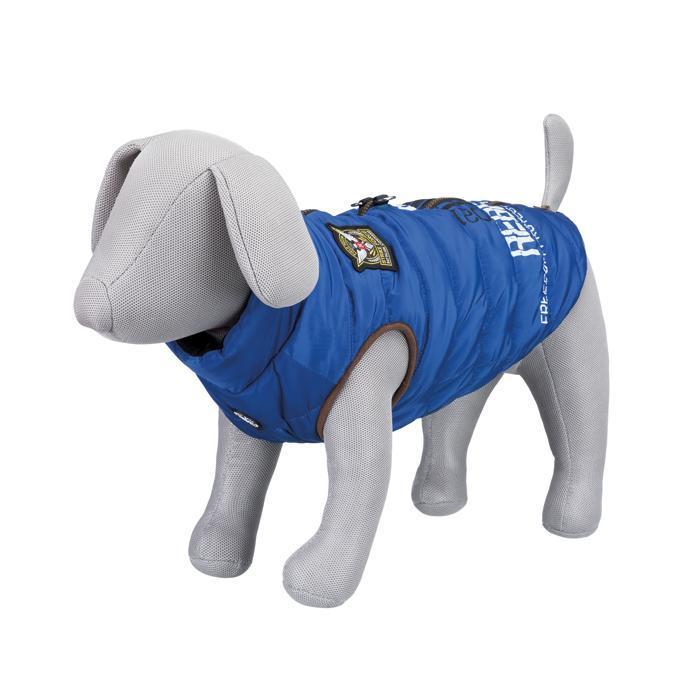 Saint-Malo Hundväst med Sele - Blå