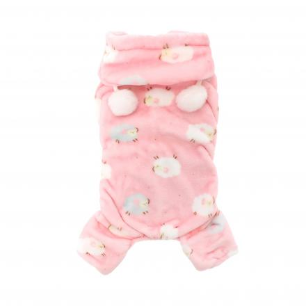 Counting Sheep Onesie - Baby Pink