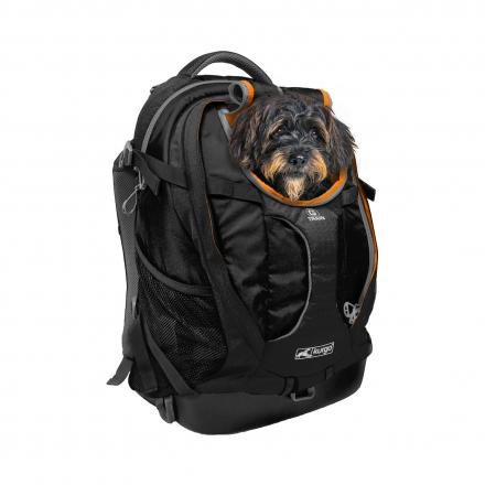 Kurgo G-Train Dog Carrier Backpack - Svart