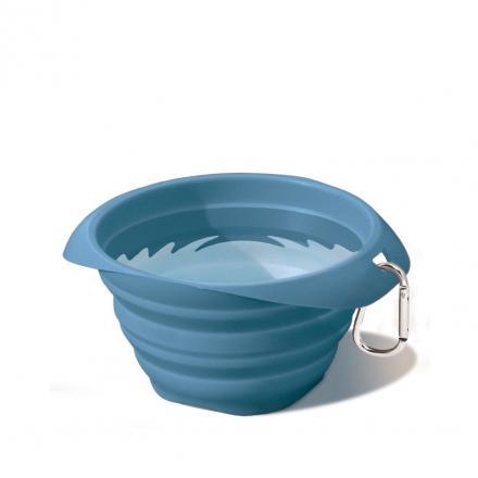 Kurgo Collaps A Bowl - Blå