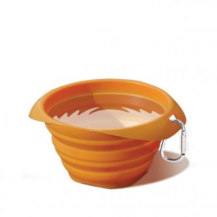 Kurgo Collaps A Bowl - Orange