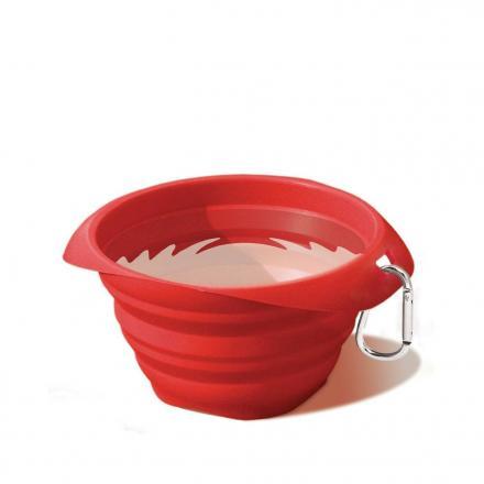 Kurgo Collaps A Bowl - Röd