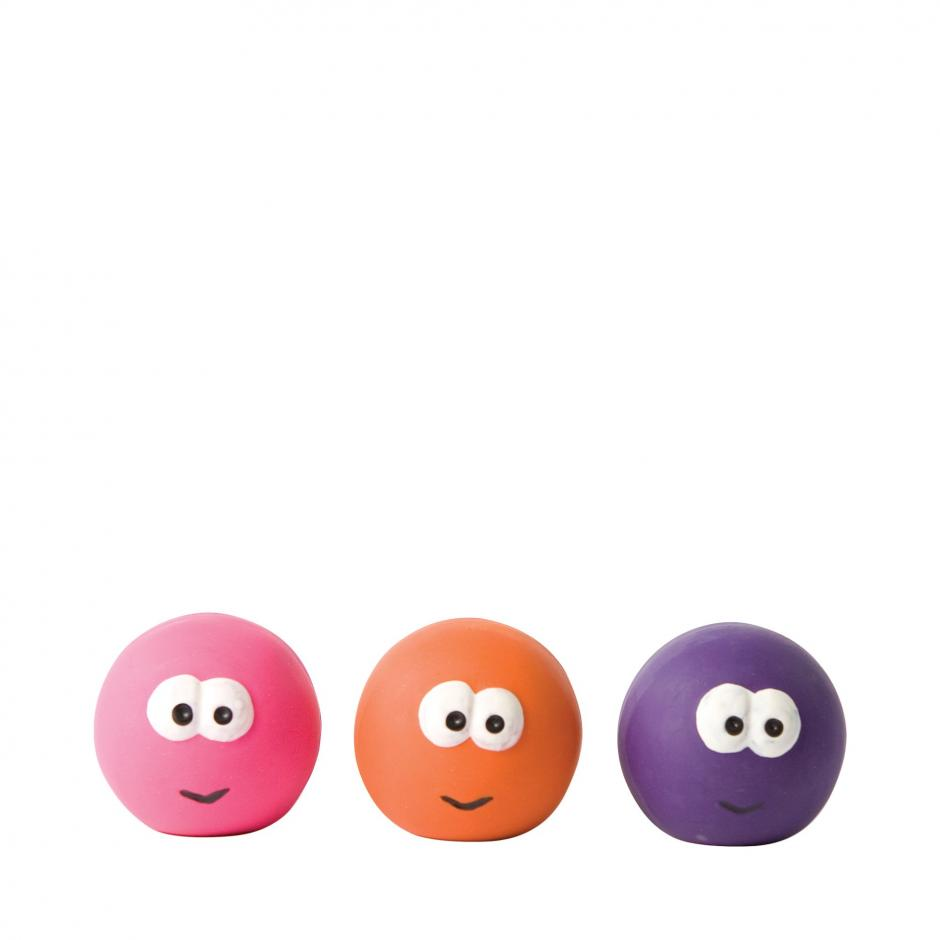 Good Boy Squeaky Balls - Big Eyes / 65 mm