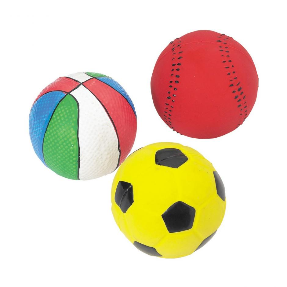 Good Boy Squeaky Balls - Sporty Balls / 75 mm