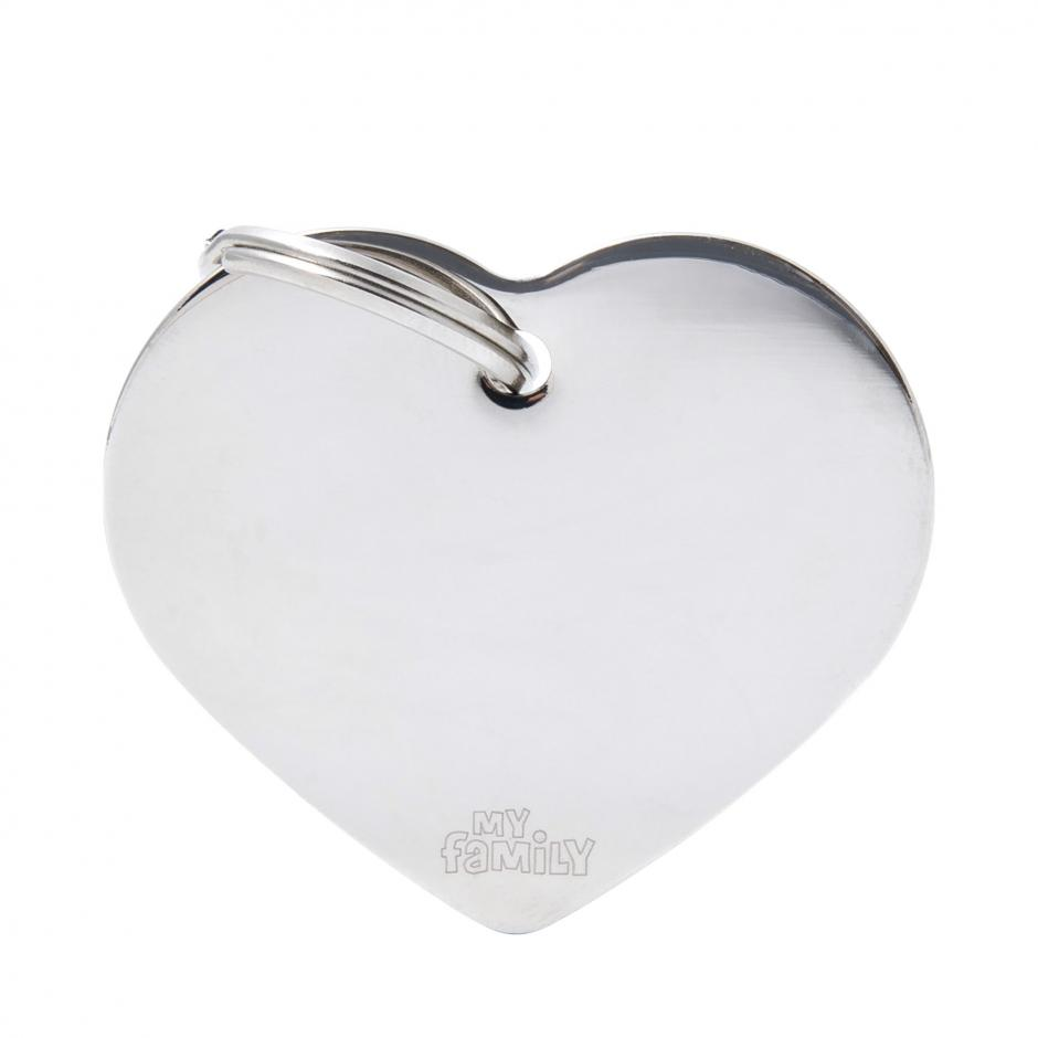 MyFamily Basic - Hjärta / Silver