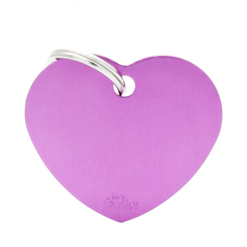 MyFamily Basic - Hjärta / Lila