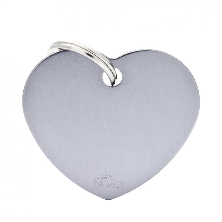 MyFamily Basic - Hjärta / Grå