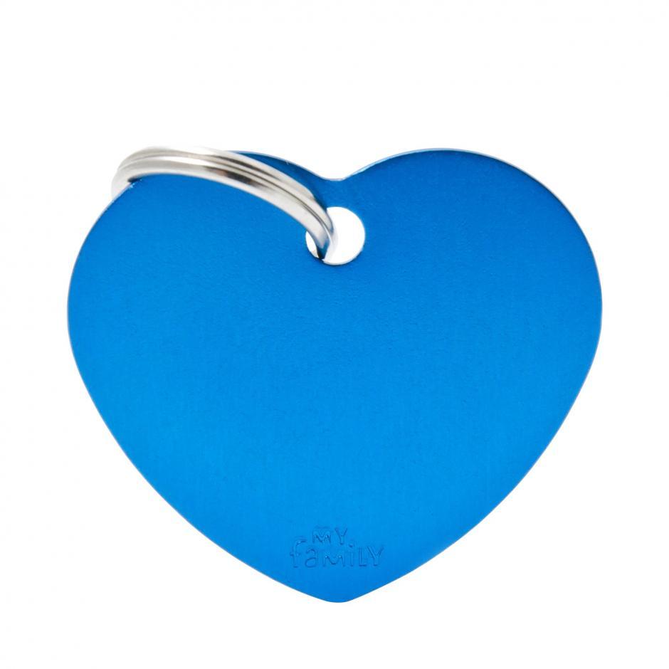 MyFamily Basic - Hjärta / Mörkblå