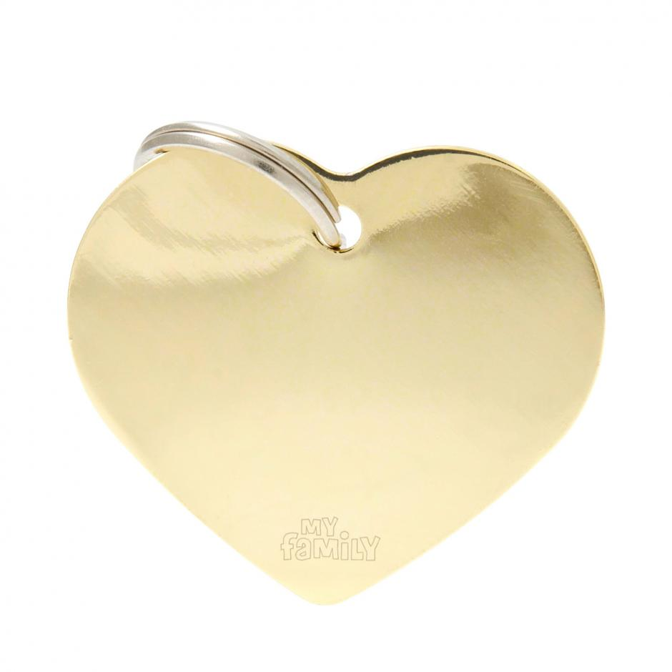 MyFamily Basic - Hjärta / Guld