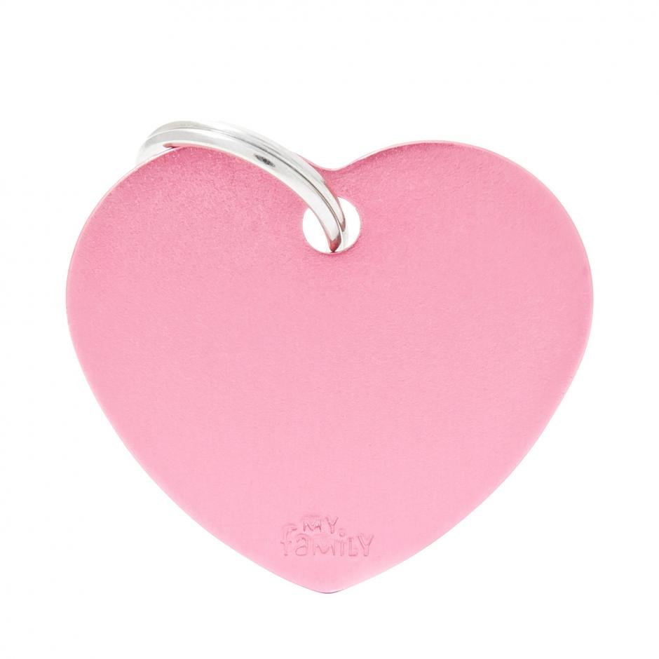 MyFamily Basic - Hjärta / Ljusrosa