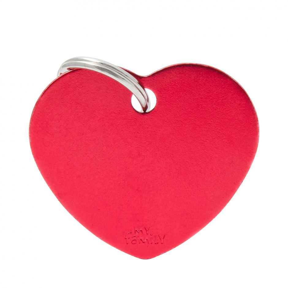 MyFamily Basic - Hjärta / Röd