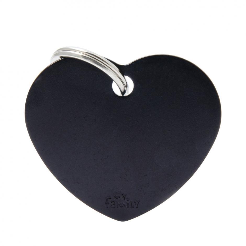 MyFamily Basic - Hjärta / Svart