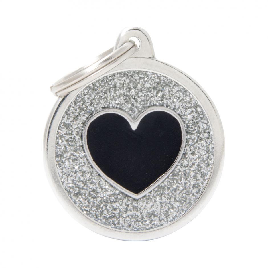 MyFamily Shine - Hjärta / Silver