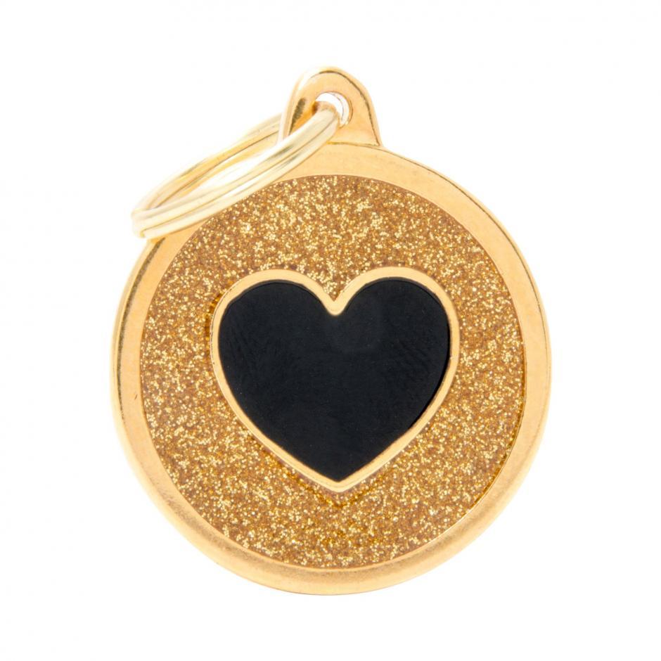 MyFamily Shine - Hjärta / Guld