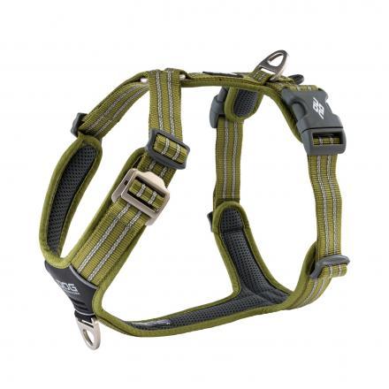 Dog Copenhagen Comfort Walk Air Harness Hunting Green