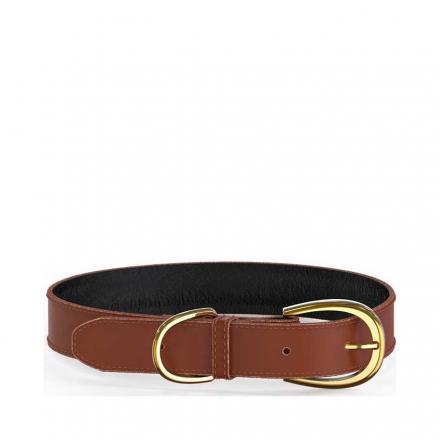 Swaggin Tails Halsband - Brun