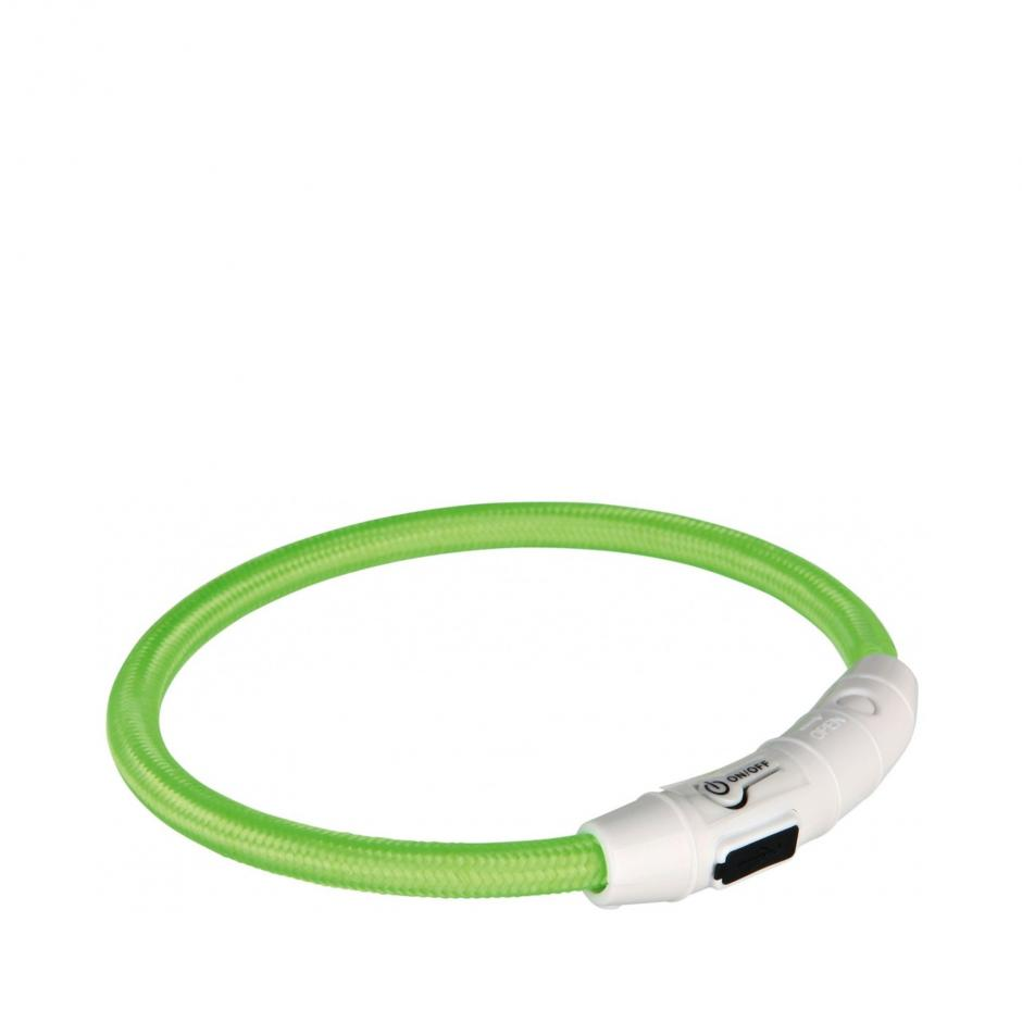 Flash Light Ring Halsband - Grön