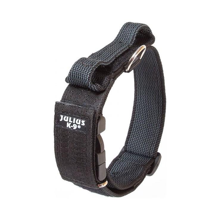 Julius-K9 C&G Med Handtag Hundhalsband - Svart