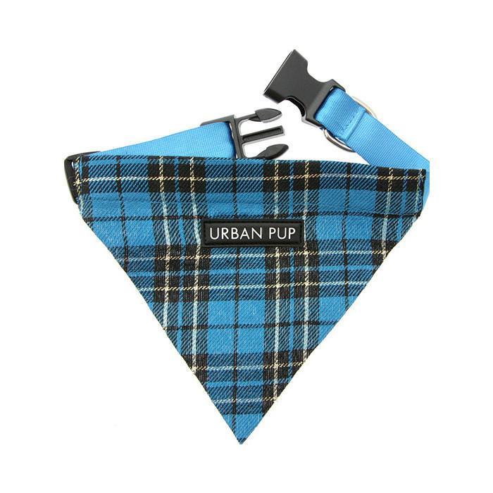 Urban Pup Bandana - Blue Tartan