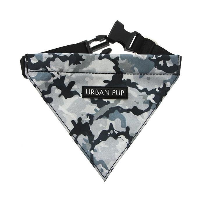 Urban Pup Bandana - Black Camouflage