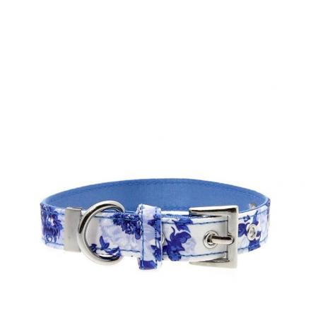 Urban Pup Halsband - Blue Floral