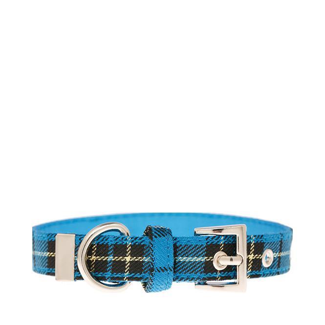 Urban Pup Halsband - Blue Tartan
